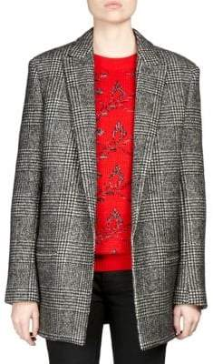 Saint Laurent Prince Of Wales Check Blazer