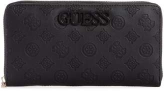 GUESS Large Janelle Cheque Organizer Wallet