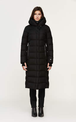 Soia & Kyo TALYSE maxi-length brushed down coat