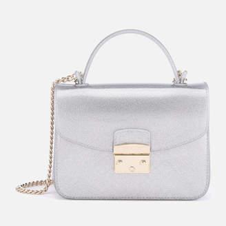 Furla Women's Candy Meringa Mini Cross Body Bag - Silver