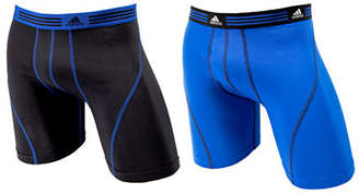adidas Athletic Stretch 2 Pack Boxer Brief