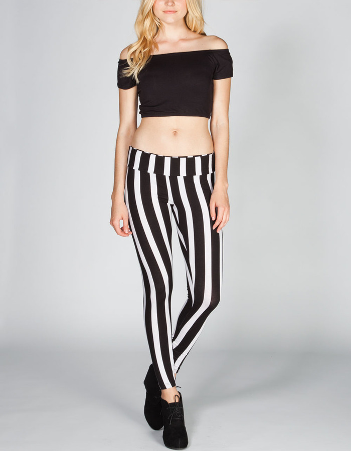 Full Tilt Bold Stripe Womens Leggings