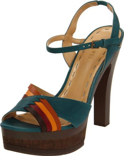Nine West Women's Bracer Platform Sandal