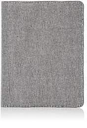 Barneys New York Mesh Refillable Journal - Silver