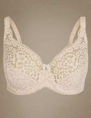 Marks and Spencer Vintage Lace Non-Padded Full Cup Bra DD-H