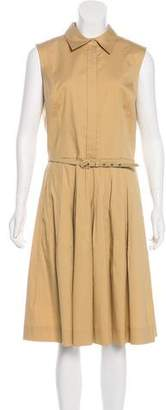 Oscar de la Renta Sleeveless Midi Dress w/ Tags