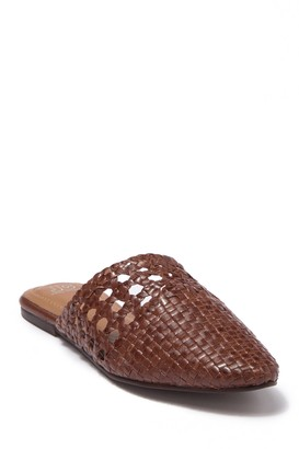 Jeffrey Campbell Woven Leather Flat Mule
