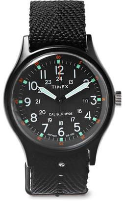 Timex Mk1 Aluminium And Nylon-Webbing Watch