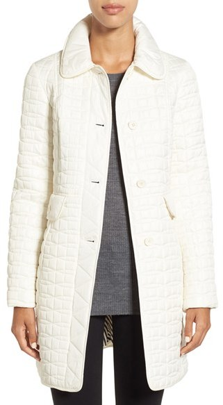 Kate Spade Women's Kate Spade New York Water Resistant Quilted Coat