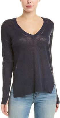 InCashmere Linen Pullover