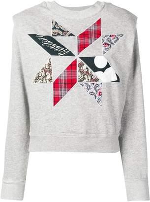 Etoile Isabel Marant patchwork sweatshirt