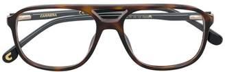 Carrera aviator shaped glasses