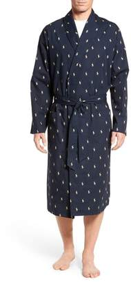 Polo Ralph Lauren 'Polo Player' Cotton Robe