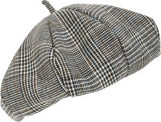 BP Plaid Beret