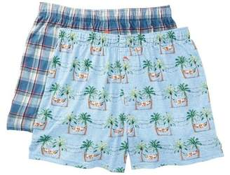 Tommy Bahama Holiday Knit Boxers - Pack of 2