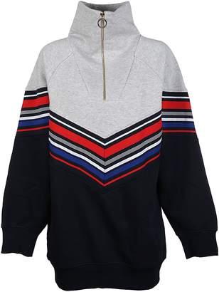 Tommy Hilfiger Chevron Striped Dress