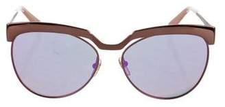 MCM Visetos Reflective Sunglasses w/ Tags