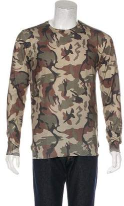 Valentino Distressed Camouflage Sweater