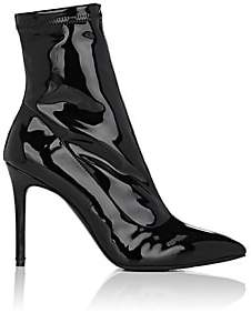 Barneys New York Women's Lula Patent Leather Ankle Boots - Black