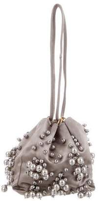 Oscar de la Renta Embellished Evening Bag