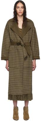 Nanushka Brown Wool Alamo Coat