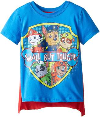 Nickelodeon Little Boys' Toddler Paw Patrol Small But Tough Toddler Cape T-Shirt