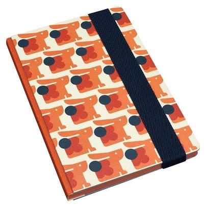 Orla Kiely Bonnie Bunny A5 Hardback Notebook