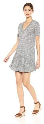 BCBGeneration Women's Asymmertrical Ruffle Dress