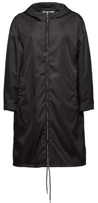 Prada Nylon Raincoat With Hood