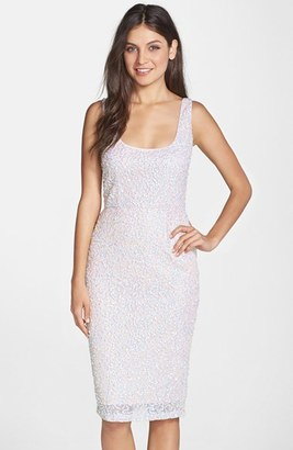 French Connection Sequin Body-Con Dress $288 thestylecure.com