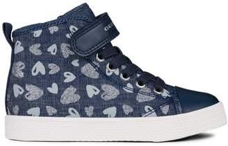 Geox Kid's Ciak Mid-Top Sneakers