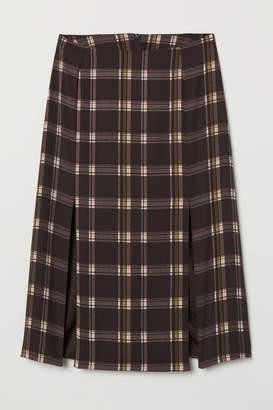 H&M Knee-length Skirt - Brown