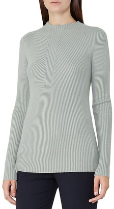 REISS Poppy Ribbed Sweater $180 thestylecure.com