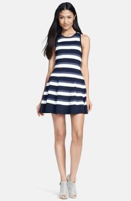 A.L.C. 'Huntington' Stripe Knit Dress