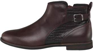 UGG Womens Demi Croc Ankle Boots Cordovan