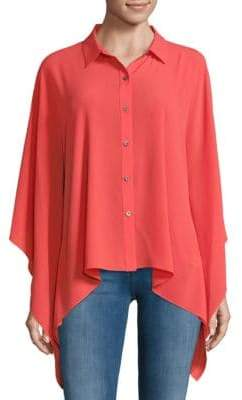 Vince Camuto Hi-Lo Button-Down Shirt