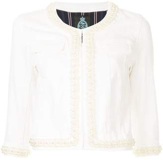 GUILD PRIME embellished fitted jacket
