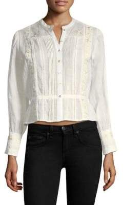 Joie Chikako Embroidered Blouse