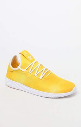 adidas x Pharrell Williams Hu Holi Yellow Tennis Shoes