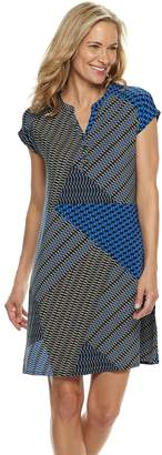 Dana Buchman Women's Print Shift Dress