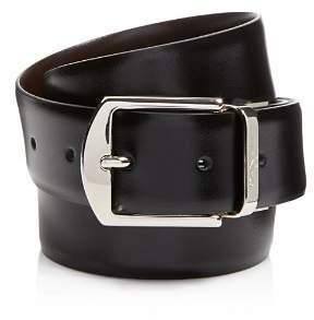 Canali Reversible Calfskin Leather Belt