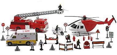 JCPenney Rescue Play Set