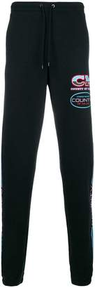Marcelo Burlon County of Milan loose fitted track trousers