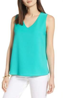 Halogen V-Neck Shell (Regular & Petite)