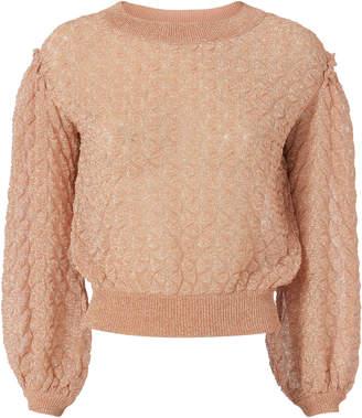 Missoni Lurex Balloon Sleeve Sweater