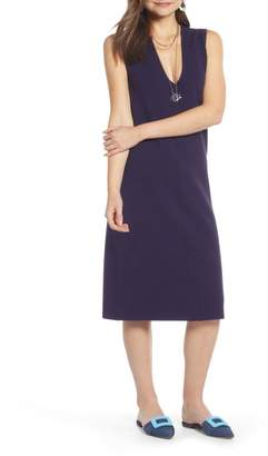 Nordstrom Something Navy Sleeveless Sweater Dress Exclusive)