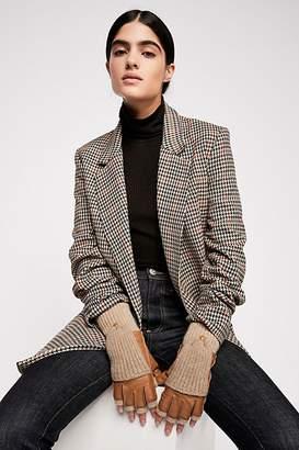 Carolina Amato Soho Cashmere & Leather Glove
