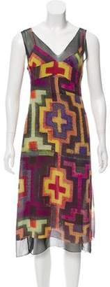 Clements Ribeiro Printed Silk Dress