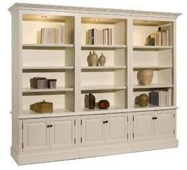 A&E Wood Designs French Restoration Brighton Oversized Set Bookcase A&E Wood Designs