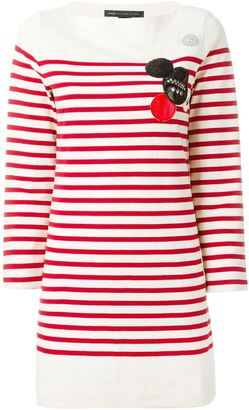 Marc By Marc Jacobs breton stripe dress $557.76 thestylecure.com